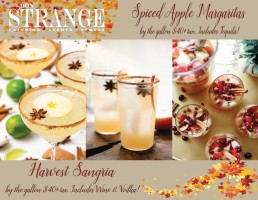 Don Strange Menu Thanksgiving 2020 Spiced Apple Margaritas