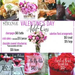 Valentine's Day Menu Page 2